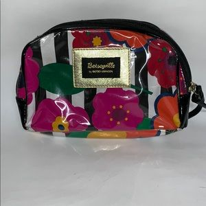 Betseyville Floral Makeup Bag
